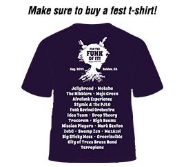 Funk Fest T-shirt