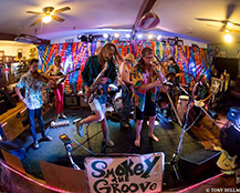 Smokey the Groove at For the Funk of It 2016