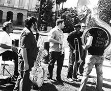 City of Trees Brass Band at For the Funk of It 2016