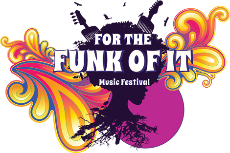 For the Funk of It Music Festival Logo